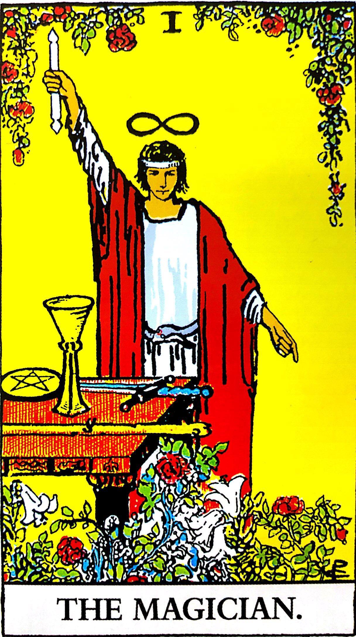 タロットの「魔術師」の意味【正位置】