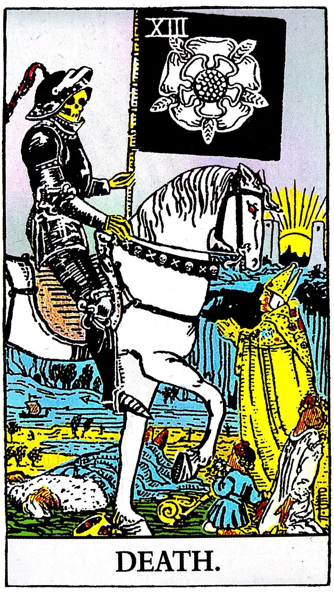 タロット占い「死神」の意味【正位置】