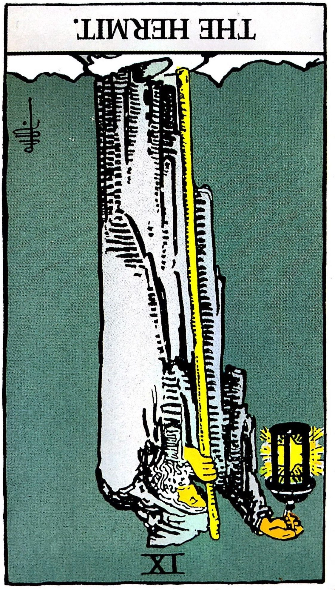 片思いを諦めるべきタロットカードその3『隠者』【逆位置】