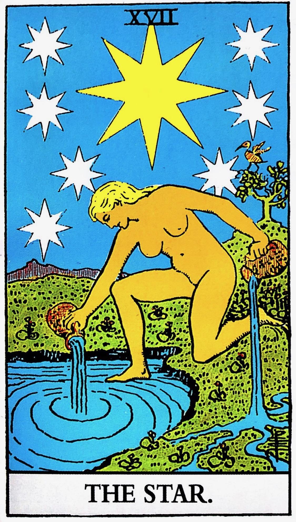 タロット占い「星」の意味【正位置】