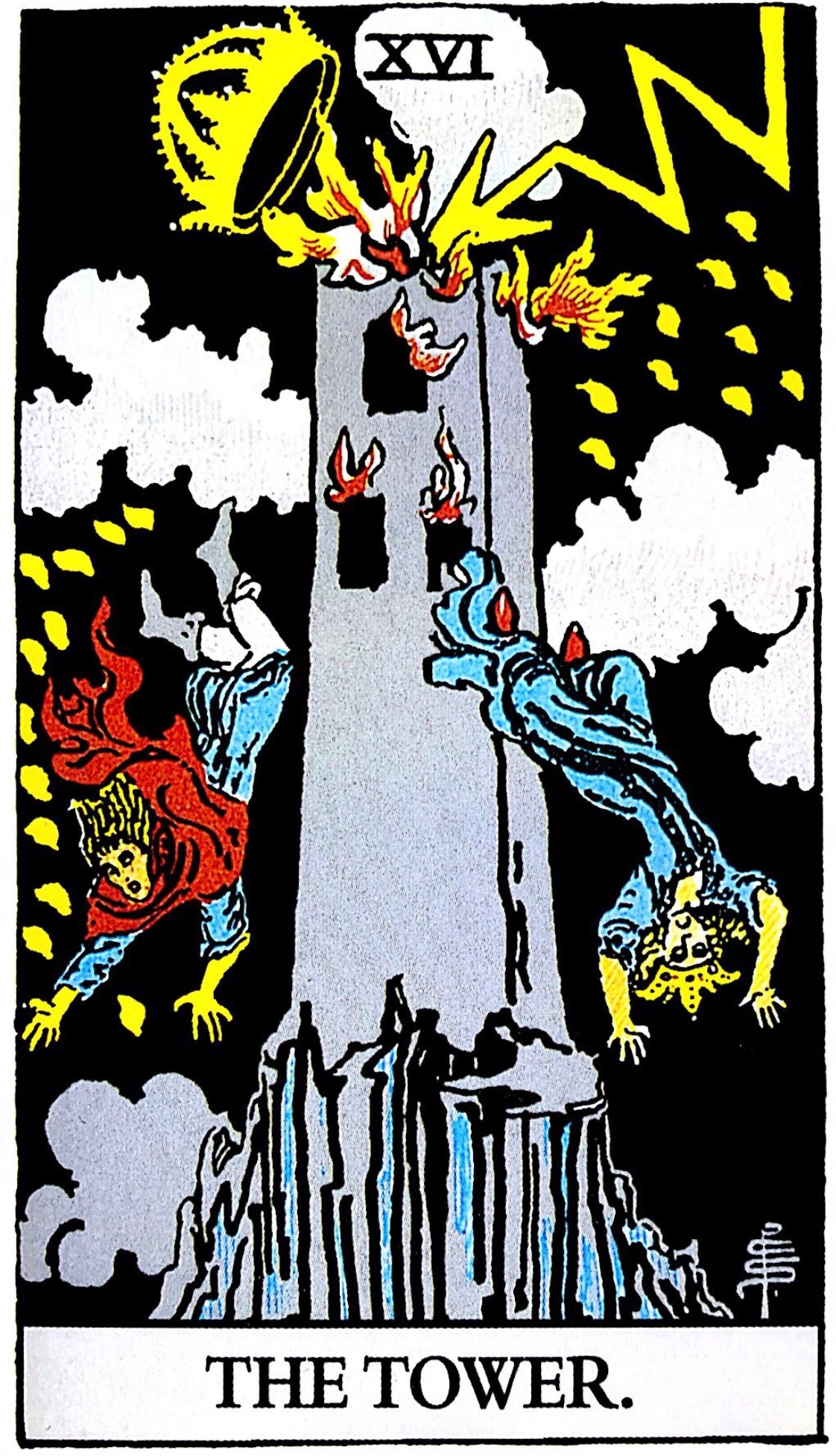 タロット占い「塔」の意味【正位置】