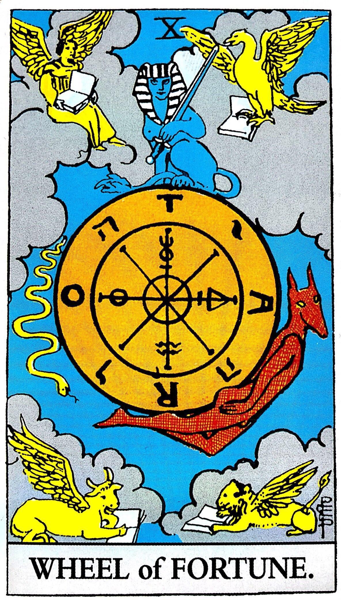 タロット占い「運命の輪」の意味【正位置】