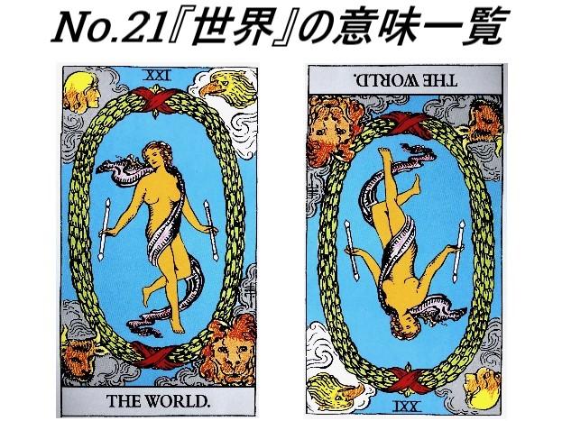 タロット占いで『世界』がでた!世界にはどんな意味があるの?【意味一覧】